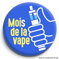 E-cigarette Mois de la Vape