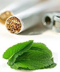 Cigarette menthol