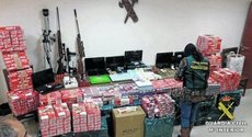Santaella tabaco contrabando operación Guardia Civil Terciopelo Mosada