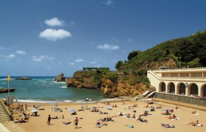 Biarritz plage sans tabac