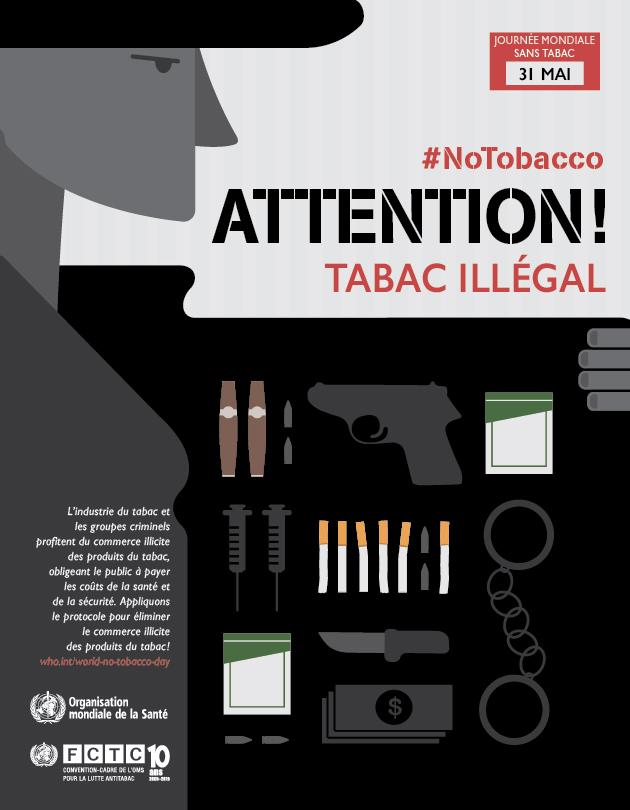 Au programme de la Journée mondiale sans Tabac 2015