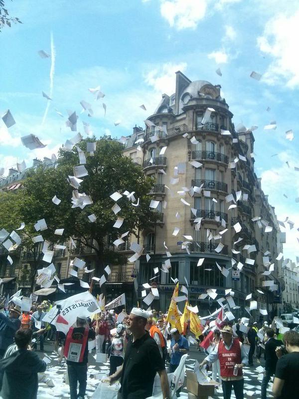 Mobilisation des buralistes: les trois moments forts de la manifestationdu 22 juillet