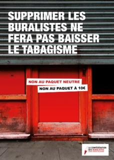 Mobilisation des buralistes : journée nationale d'actions, le mardi 8 septembre