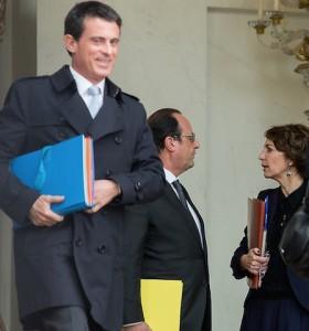 Hollande, Valls, Touraine