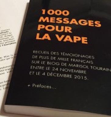 Cigarette électronique : « 1 000 messages pour la vape », un livre en réponse au silence de Marisol Touraine