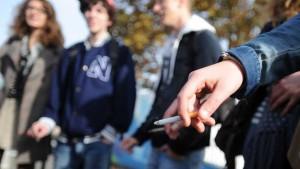 Fumeurs lycée mineurs