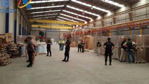 Espagne usine clandestine