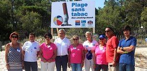Plage sans tabac Calvi