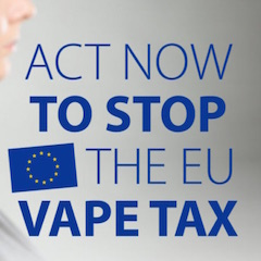Europe : pétition vapotage