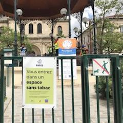 Paris: 52 parcs «sans tabac»