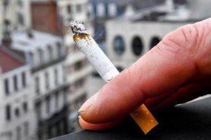 Russie balcon fumeurs