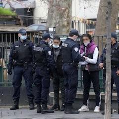 Paris : les saisies de la police