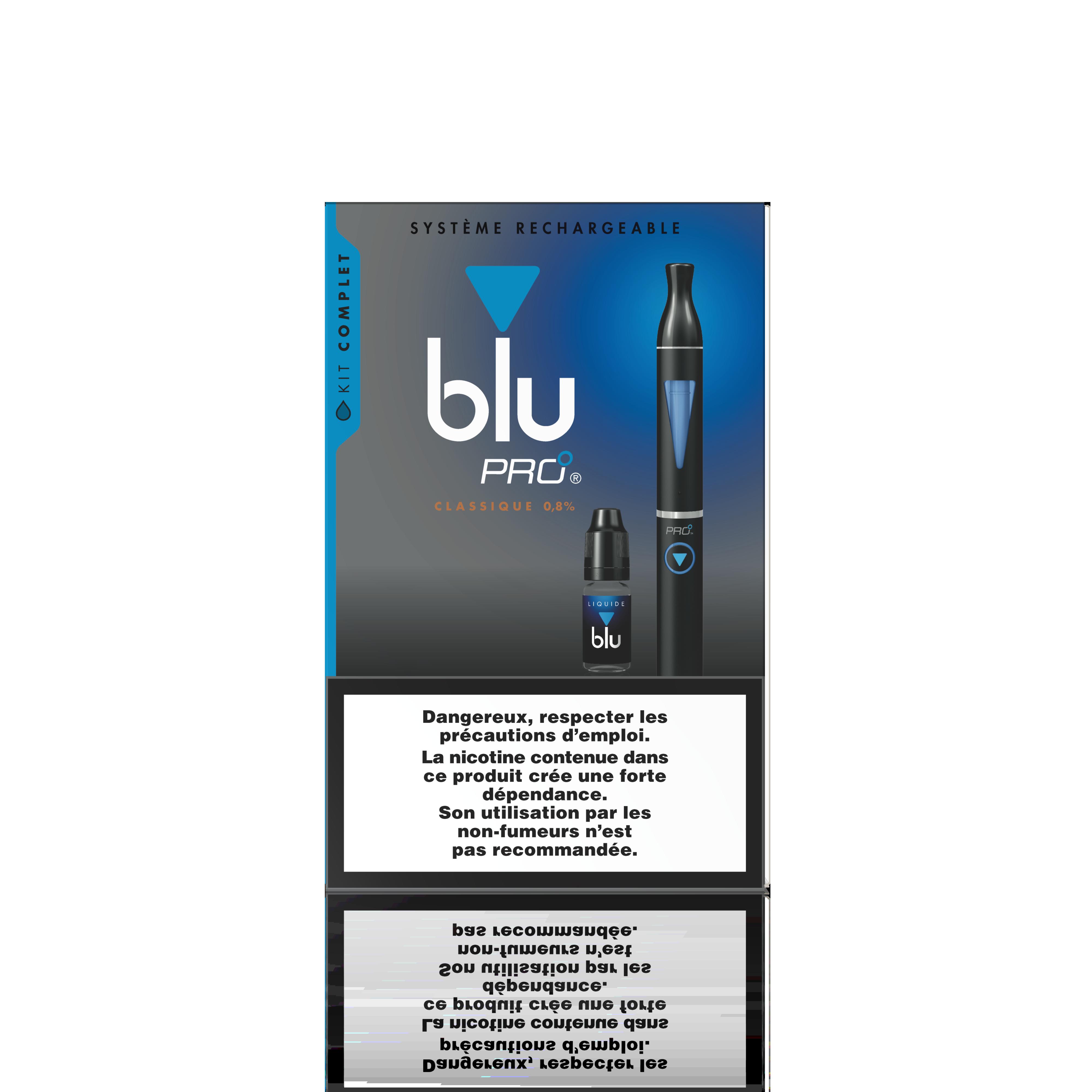 L'e-cig blu PRO : « offrir une véritable alternative aux fumeurs »