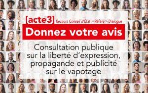 Sovape consultation-publique