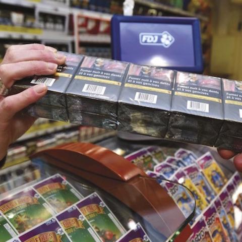 Cigarettes : -9,3 % en mars