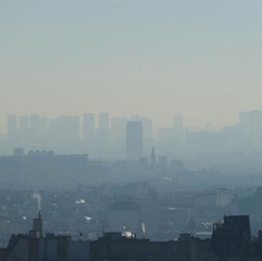 Pollution de l'air : plus que le tabac