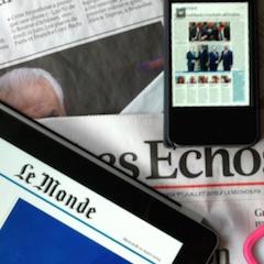 Presse: boom du numérique