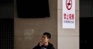 Chine Shangai fumeur